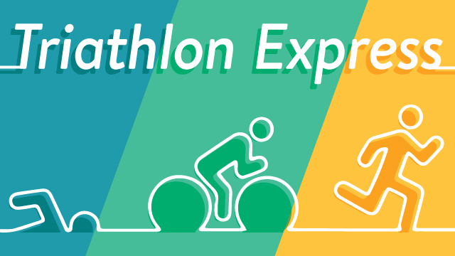 Triathlon Express Graphic