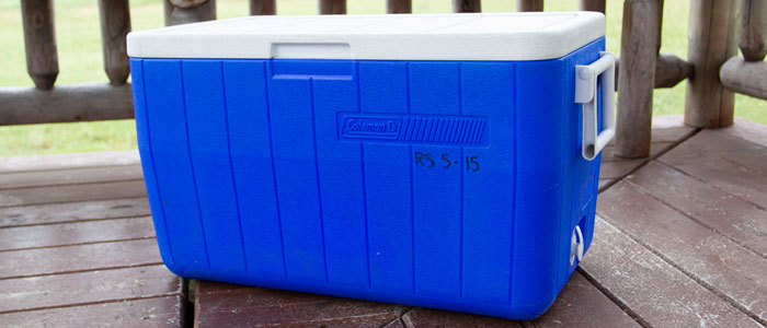 Photo of an Ice Chest
