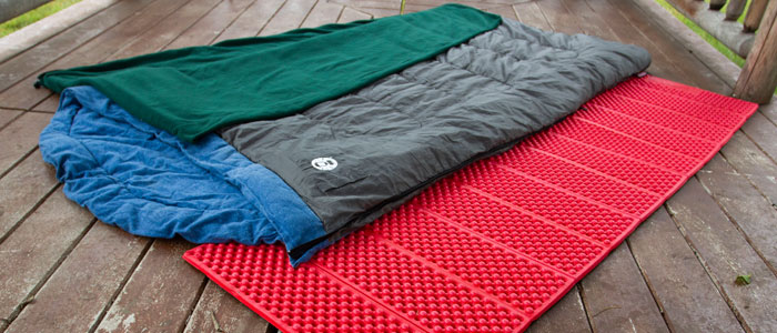 Photo of the sleeping bag package
