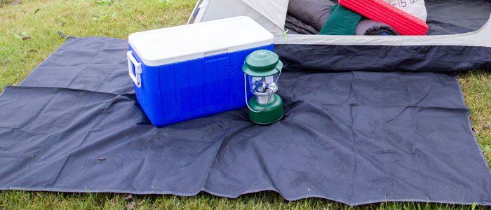 Photo of a Camping Tarp