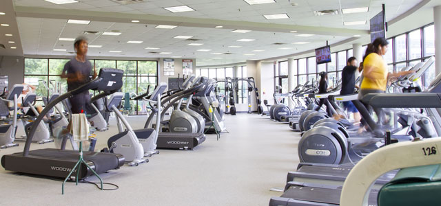 Cardio Training Area of Fitness Center
