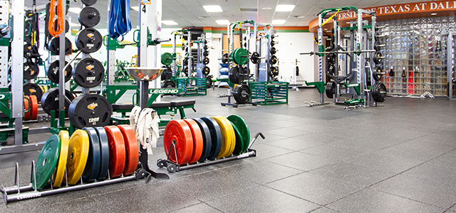 SPN Wellness Center Weight Training Equipment