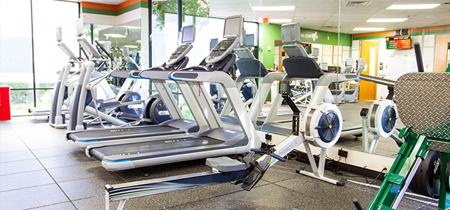 SPN Wellness Center Cardio Equipment
